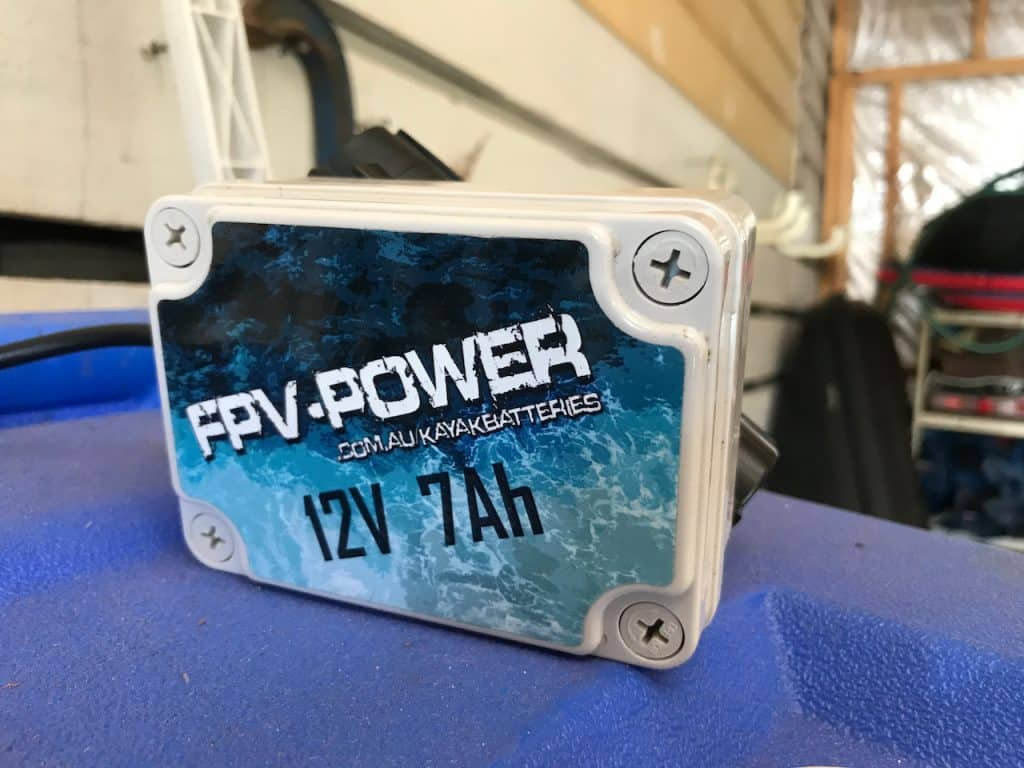 best kayak fish finder battery