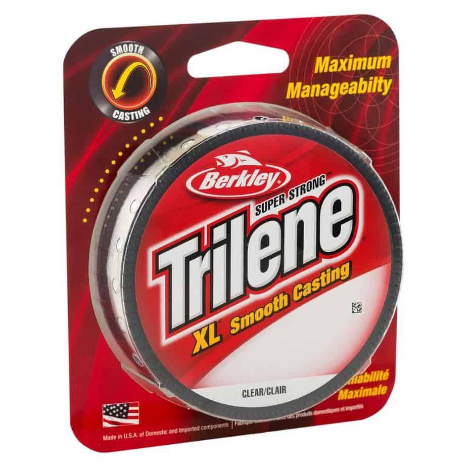 best line for spinning reel pic of Berkley Trilene spool