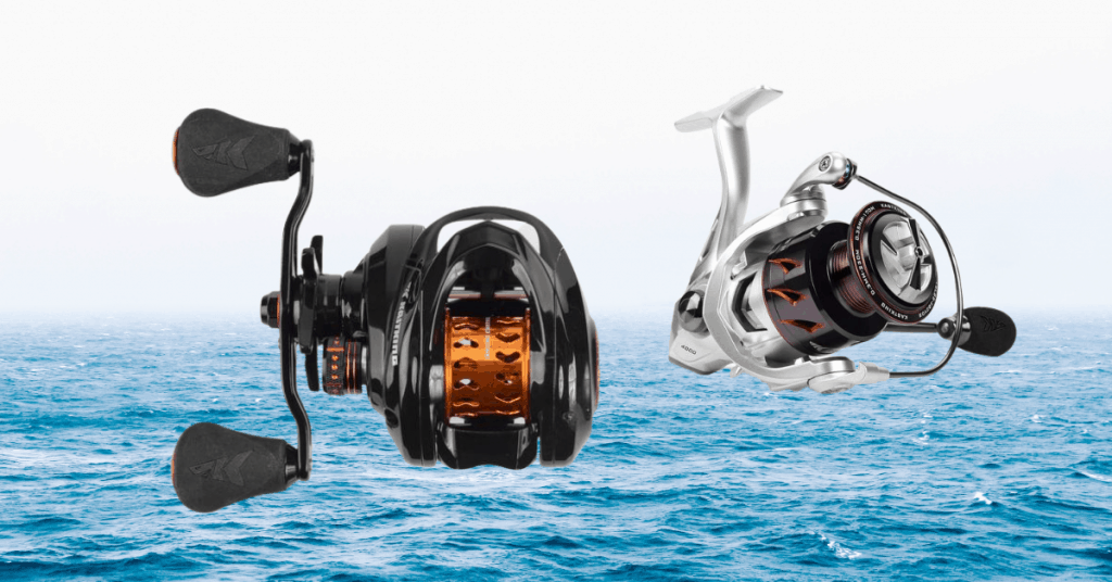 Are KastKing Reels Any Good feature image of two reels