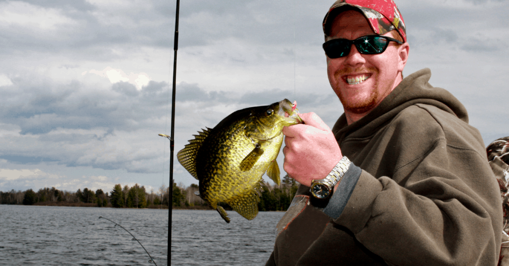 feature image fisherman with crappie smiling