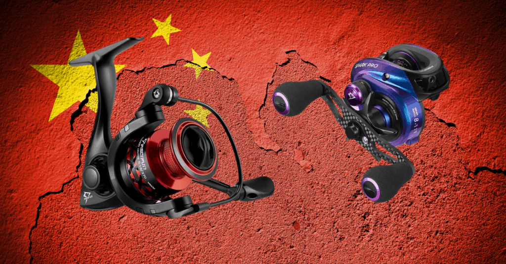 feature image for where are KastKing reels made China