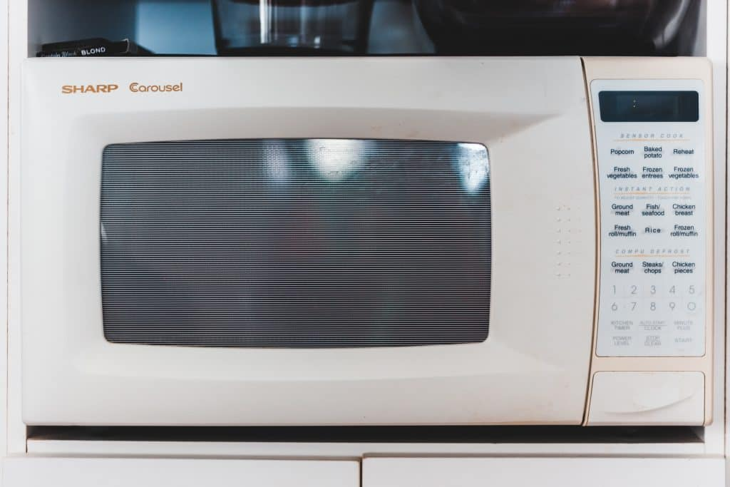 Are Yeti Cups Microwave Safe image of a microwave
