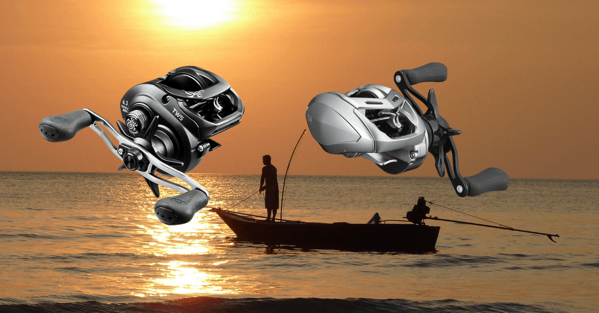 Featured image for best ultralight baitcasting reel post of two casting reels