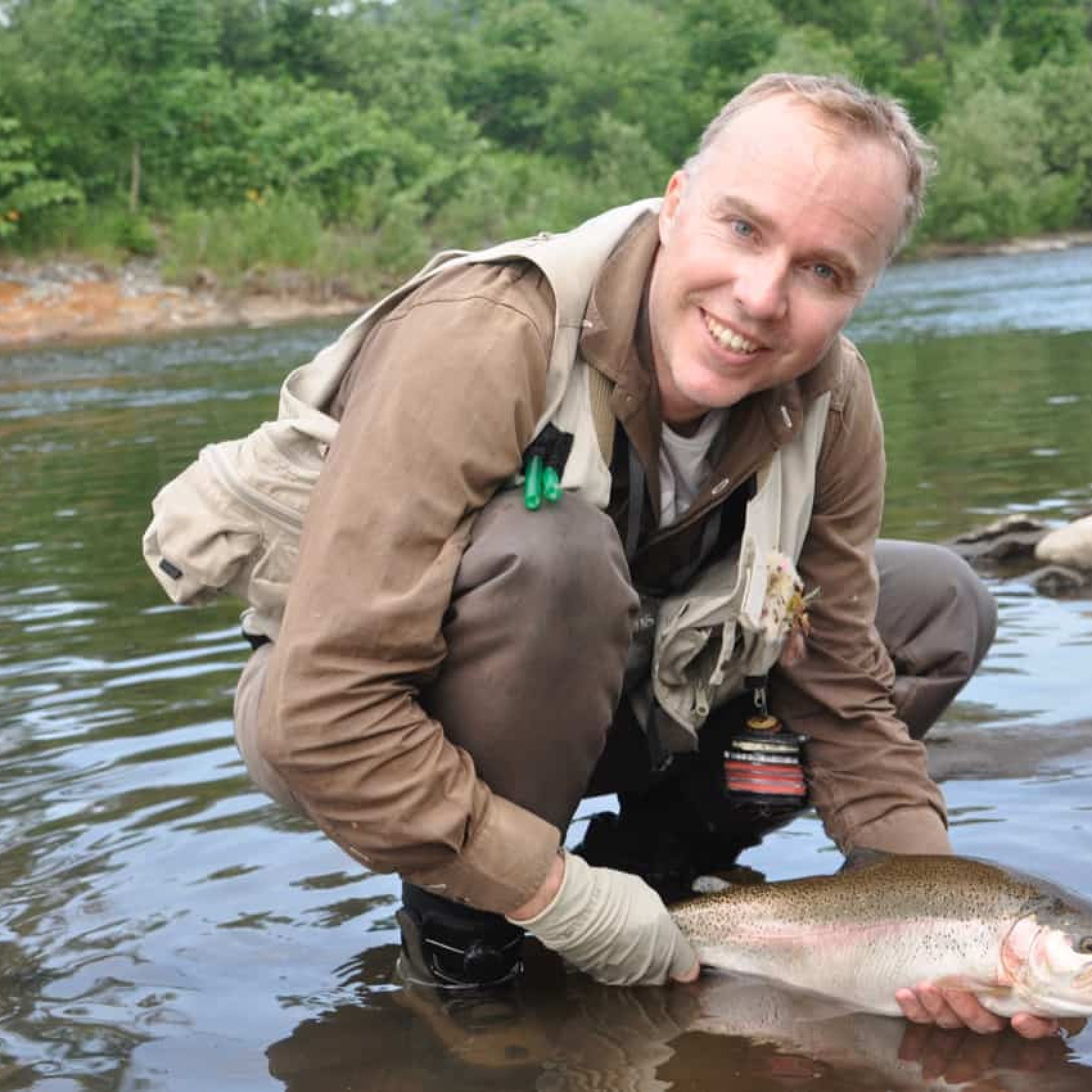 Rick Wallace japan fly fishing rainbow trout hokkaido