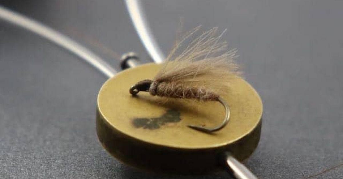Macro close up f Fly bobbin arty